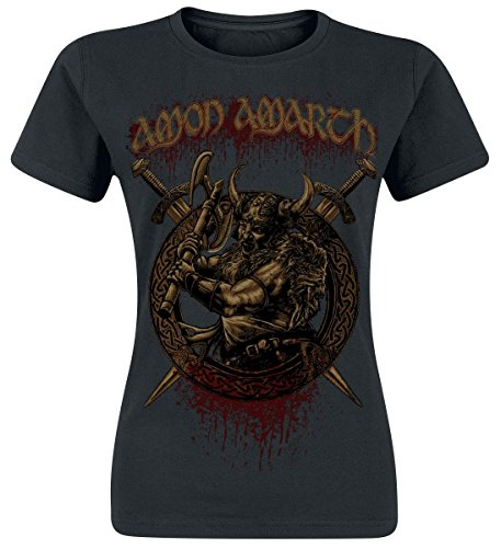Amon Amarth Way Of Vikings Maglia donna nero S