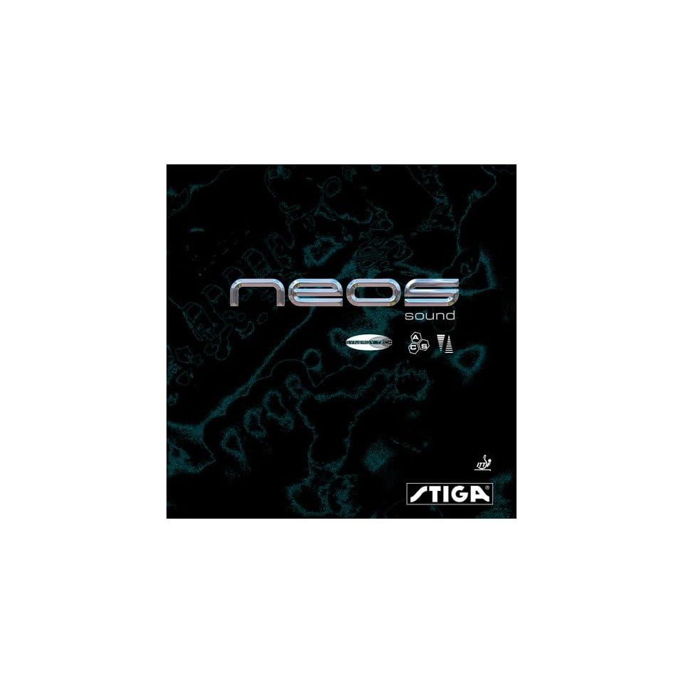 STIGA Neos Sound Synergy Tech Table Tennis Rubber Sports