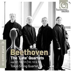 Beethoven : les derniers Quatuors à cordes n° 12 à n° 16 - Grande Fugue op. 133