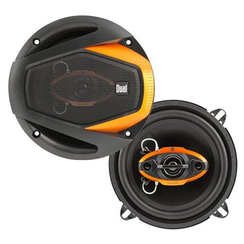 Dual Dls5240 5.25-Inch 4-Way 125W Peak Speakers - Set Of 2