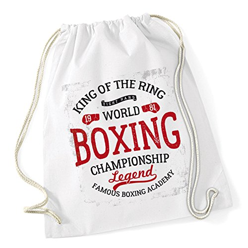 King Of The Ring Borsa De Gym Bianco Certified Freak
