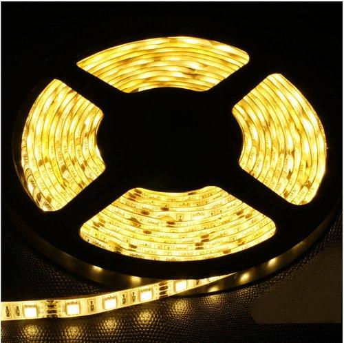 Non-Waterproof 12V Flexible Led Strip Lights Led Tape Warm White 60 Units/M 3528 Leds Light Strips Pack Of 3M
