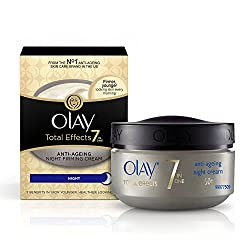 Olay Total Effects 7-In-1 Anti Aging Night Skin Cream, 50gm