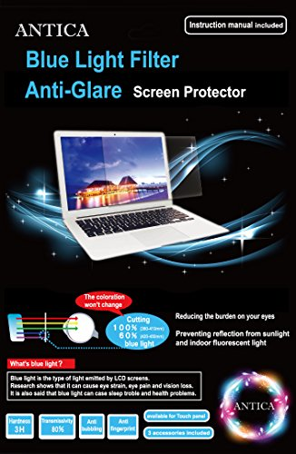 ANTICA Blue Light Filter Anti-Glare Screen Protector/15.6