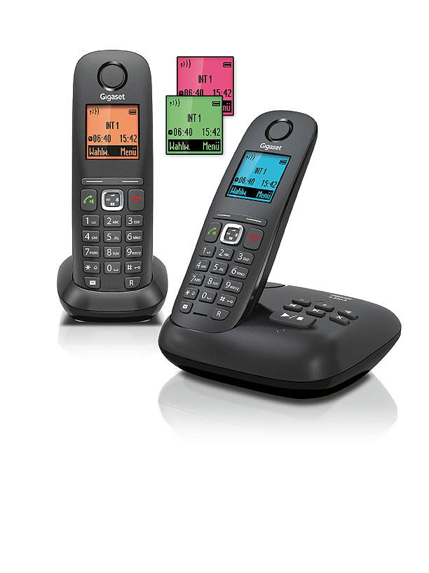 gigaset a540 a duo dect schnurlostelefon mit elektronik. Black Bedroom Furniture Sets. Home Design Ideas