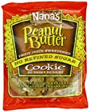 Nana's Cookie, Peanut Butter, 99 g Packages (Pack of 12)