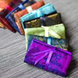 Jewelry Roll (XS) - Silk Jacquard