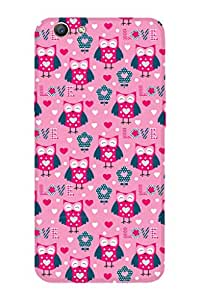 ZAPCASE PRINTED BACK COVER FOR OPPO F1S Multicolor