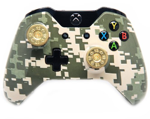 """Digital Army"" Xbox One Custom UN-MODDED Controller Real Shot Gun Shell Exclusive Design"