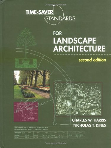 Time Saver Standards For Landscape Architecture Ebook Ewucekneqynk
