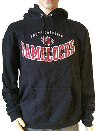 South Carolina Gamecocks Champion Eco Fleece Black LS Hoodie Sweatshirt (L)