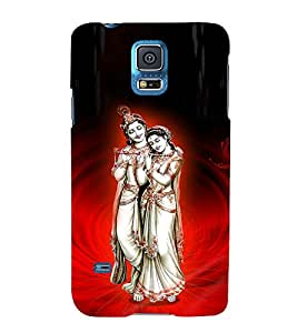 Satyavrata Krishna 3D Hard Polycarbonate Designer Back Case Cover for Samsung Galaxy S5 G900i :: Samsung Galaxy S5 i9600 :: Samsung Galaxy S5 G900F