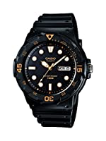 Casio Enticer Analog Black Dial Men's Watch - MRW-200H-1EVDF (A596)