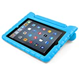 iPad Case, BUDDIBOX [EVA Series] Shock Resistant [Kids Safe][STAND Feature] Carrying Case for Apple iPad 2, iPad 3, iPad 4, and Retina, (Blue)