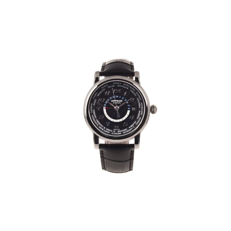 Montblanc Star Collection Automatic World Time Mens Watch 106464