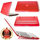 Customer Appreciation Sale (Limited Time & Quantity): iPearl mCover Hard Shell Case for Model A1278 13-inch Regular display Aluminum Unibody MacBook Pro – RED