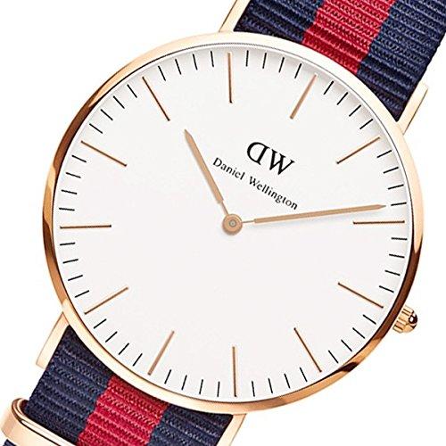 ダニエル ウェリントン オックスフォード/ローズ 40mm クオーツ 腕時計 0101DW[並行輸入品]