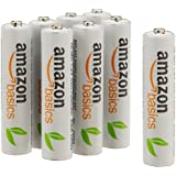 AmazonBasics AAA Rechargeable Batteries (8-Pack) Pre-charged