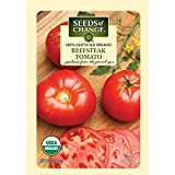 Seeds of Change Certified Organic Tomato, Beefsteak - 100 milligrams, 25 Seeds Pack