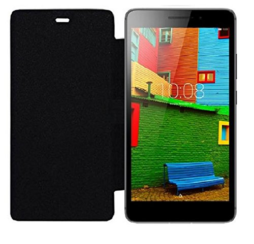 CarryWrap Top Quality imported flip cover for Lenovo Phab - Black