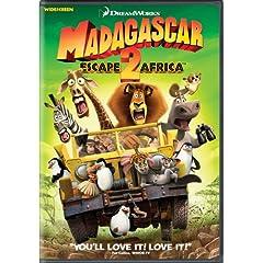 Madagascar - Escape 2 Africa (Widescreen): Ben Stiller, Chris Rock, David Schwimmer, Jada Pinkett Smith, Sacha Baron Cohen, Cedric the Entertainer, Andy Richter, Bernie Mac, Alec Baldwin, Sherri Sheph