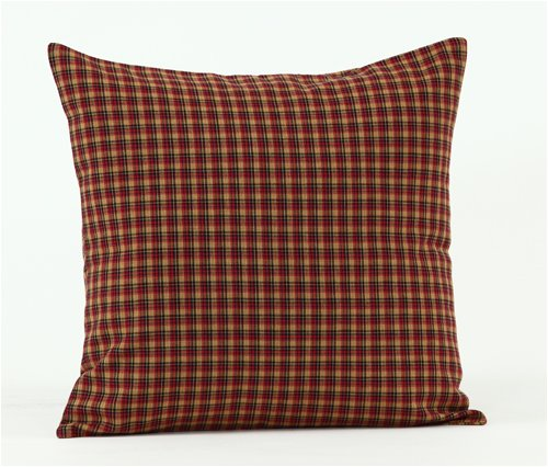 Patriotic Patch 16 inch Fabric Pillow Cover
