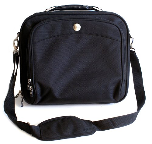Genuine Dell Black Classic D-Series Nylon Notebook/Laptop Carrying-Case Tote Bag Briefcase Fits Most Notebook with up to a 14.1