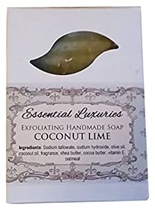 Coconut Lime Soap - Exfoliating - Oatmeal