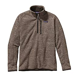 Patagonia M Better Sweater 1/4 ZIP - Pale Khaki - XL - Mens comfortable warm knit fleece pullover