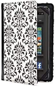 Verso Versailles Case Cover for Kindle Fire - Black/White from LightWedge (Kindle Accessories)