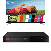 LG Electronics 55LB7200 55-Inch 1080p 240Hz 3D Smart LED TV with BP340 Blu-Ray Disc Player