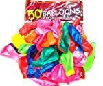 50 Assorted Colour 12 Inch Latex Ball...
