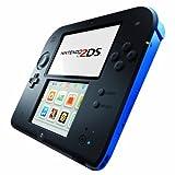 Nintendo 2DS Grundgerät black/blau