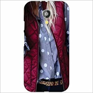 Moto G 2nd Gen Suit Up - Silicon Phone Cover