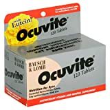 Bausch & Lomb Ocuvite With Lutein -- 120 Tablets