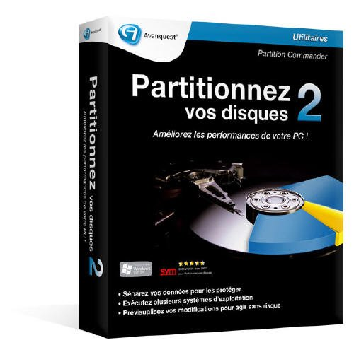 Partionner vos disques 2 (vf - French software)