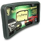 Flexyframe LD - Front Bumper Guard, Front Bumper Protection, License Plate Frame. Winner of Popular Mechanics Editors Choice Award 2012!