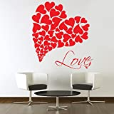Decal Style Love Wall Sticker Small Size-22*24 Inch