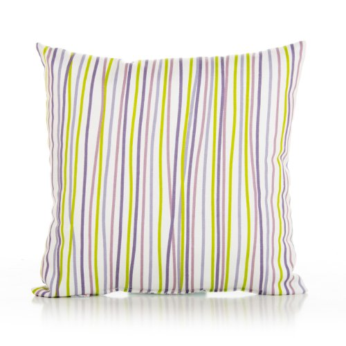 Sweet Potato Stripe Pillow, Lulu front-169762