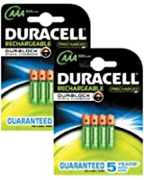 Duracell AAA Pre-Charged Pile Rechargeable Pack de 8