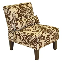 Product Image Canary Print Armless Chair - Brown