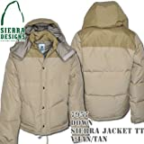 Down Sierra Jacket TT 7957: Vintage Tan / Tan