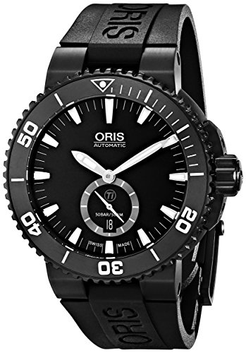 Oris-Mens-73976747754RS-Aquis-Analog-Display-Swiss-Automatic-Black-Watch