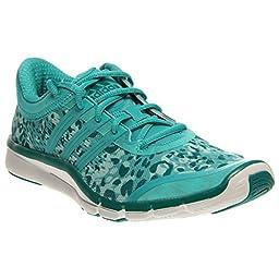 adidas Performance Women\'s Adipure 360.2 W Cross-Training Shoe, Vivid Mint/White, 8 M US