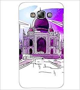 PrintDhaba Taj-Mahel D-2857 Back Case Cover for SAMSUNG GALAXY GRAND 3 (Multi-Coloured)