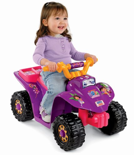 New Power Wheels Dora The Explorer Lil' Quad