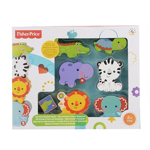 Fisher-Price My First Animal Tower Pretend Play - 1