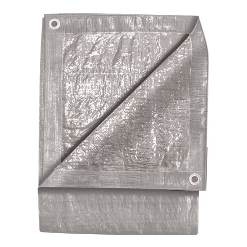 TEKTON 6340 12-Foot by 24-Foot Silver Tarp