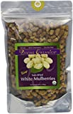 Divine Organics Raw White Mulberries, 14 Ounce