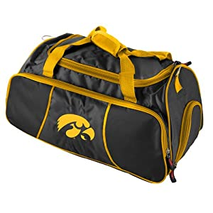 Buy Brand New Iowa Hawkeyes NCAA Athletic Duffel Bag by Things for You